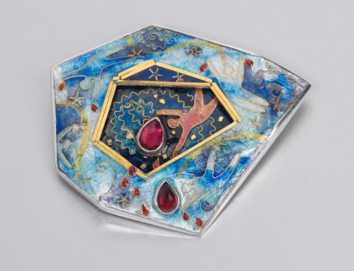Within the Stone 3 Dimensional Brooch 2