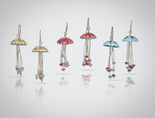 Jelly fish Earrings